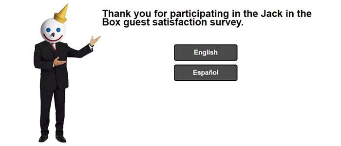 Jack in a Box survey