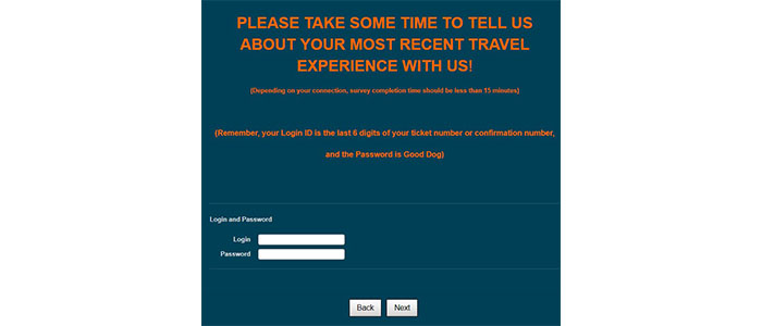 Greyhound Survey Login